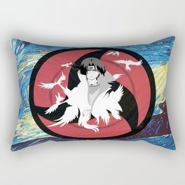 Itachi Starry Night Rectangular Pillow