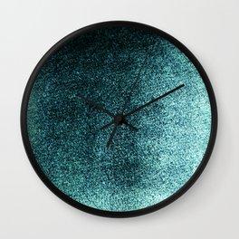 Teal Green Mist Wall Clock