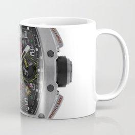 Richard Mille 11-02 Titanium Flyback Chronograph Dual Time Zone 50MM Watch Coffee Mug