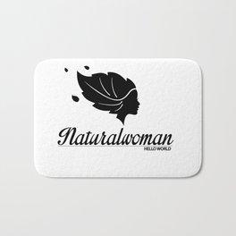 naturalwoman by HELLO WORLD cool Bath Mat