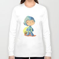 megaman Long Sleeve T-shirts featuring Megaman by Rod Perich