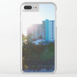 56th St. Clear iPhone Case