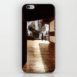 A Peak of Light iPhone Skin