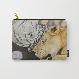 """CamBu"" Cameron Lion & Zabu Tiger Carry-All Pouch"