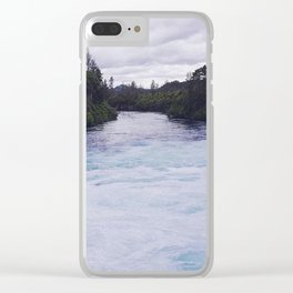 Waikato river Clear iPhone Case