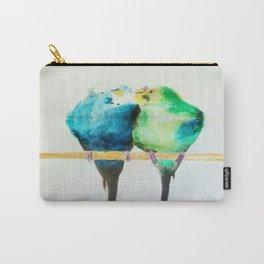 Watercolor parrots Carry-All Pouch
