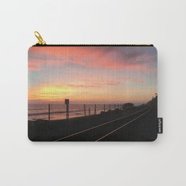 Tracks to San Clemente Carry-All Pouch