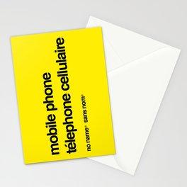 No Name/Sans Nom Stationery Cards