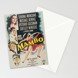 Classic Movie Poster - Mambo Stationery Cards