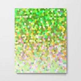 Mosaic Sparkley Texture G150 Metal Print