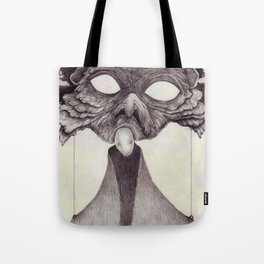 Meeting With Beksinski Tote Bag