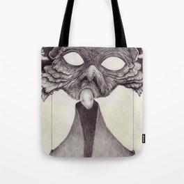 Meeting With Beksinski Tote Bag