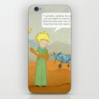 le petit prince iPhone & iPod Skins featuring  Le Petit Prince  by Ia Re