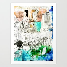 Shack Art Print