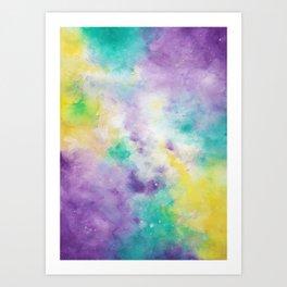 Obnoxious Galaxy Art Print