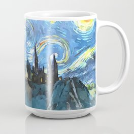 Starry Night in Hogwarts Castle - HP Coffee Mug