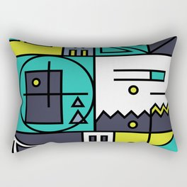 Play on words | Bike or die Rectangular Pillow