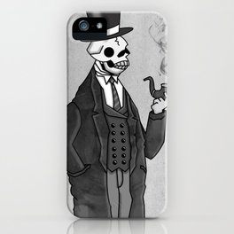 Undead Gentleman iPhone Case