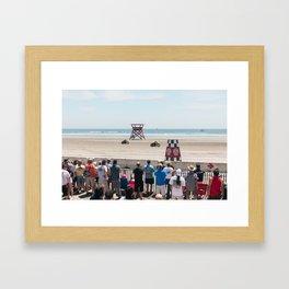 Race Of Gentleman Framed Art Print