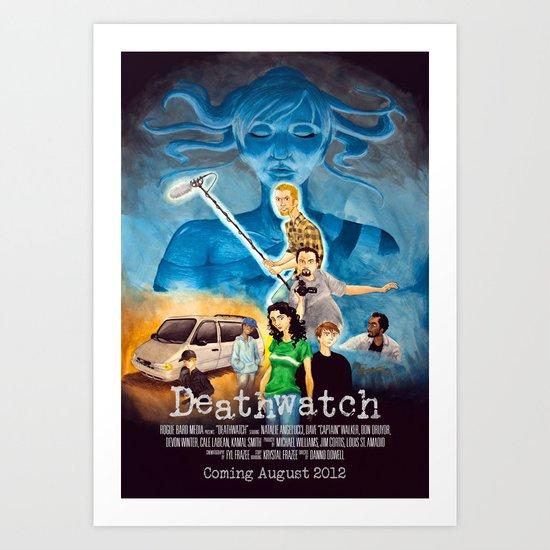 Deathwatch - credits ver. Art Print