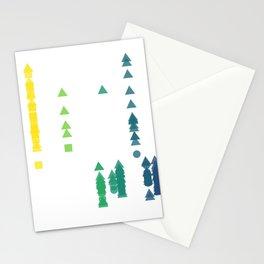 Fork Length Stationery Cards