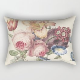 Henriëtte Geertruida Knip - a bouquet - 1820 Rectangular Pillow