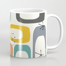 Mid Century Modern Shapes 02 #society6 #buyart Coffee Mug