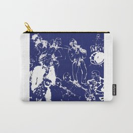 New York Jazz       by Kay Lipton Carry-All Pouch