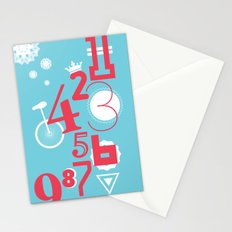 123... Stationery Cards