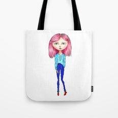 Pink Blythe Tote Bag