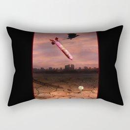 The Un-nature of War Rectangular Pillow
