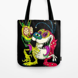 Monster Friends Tote Bag