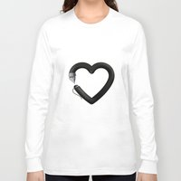write Long Sleeve T-shirts featuring Love to write by Colorblind