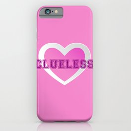 Clueless V iPhone Case
