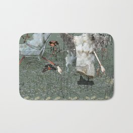 Dionysus and Apollo Bath Mat