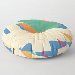 Henri Matisse - Tahiti, Memory of Oceania Tropical cut-out series portrait panting Floor Pillow