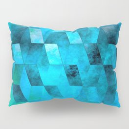 Stacked Sky (blue) Pillow Sham