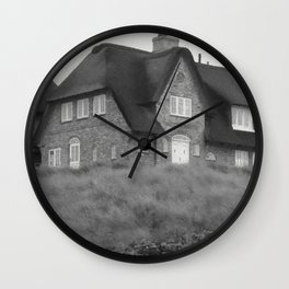 thatched cottage  Wall Clock