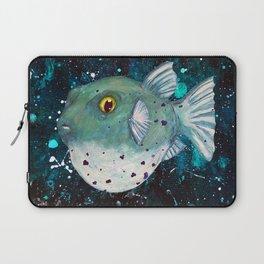 Friendly Green Fugu Redux Laptop Sleeve