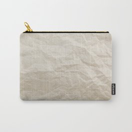 Brown Paper Texture Background Carry-All Pouch