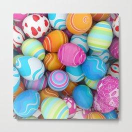 Easter Eggs Metal Print