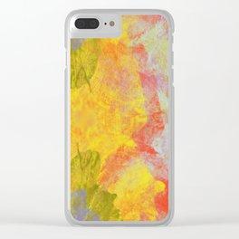 Sideways Garden Clear iPhone Case
