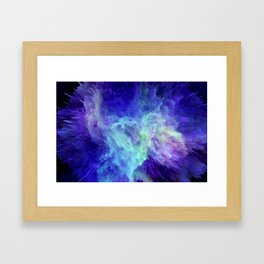 Space Explosion 07 Framed Art Print