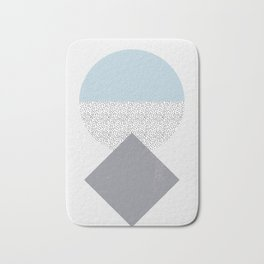 abstraction Bath Mat