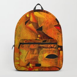 Indigenous Inca Tribal Sapa Inca, Son of the Sun portrait painting by Ortega Maila Backpack
