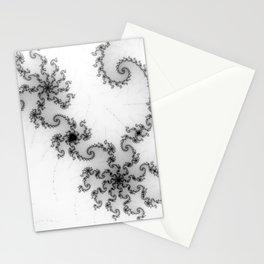 detail on mandelbrot set - starfish Stationery Cards