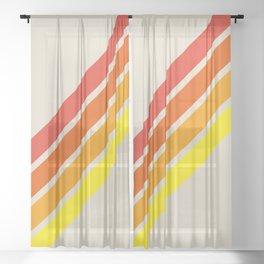 Classic Retro Alisanus Sheer Curtain