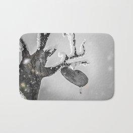 Frozen Heart Bath Mat