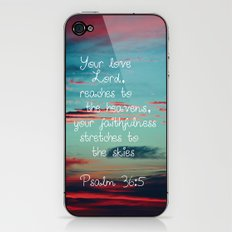Your Love O Lord iPhone & iPod Skin