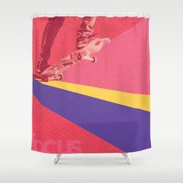 human dynamic #1 Shower Curtain